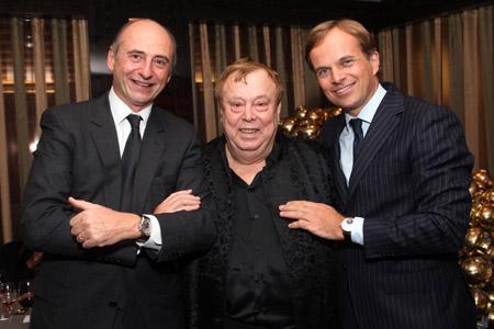 Philippe Pascal, gabriel tortella, Jean-Frederic dufour (De gauche à droite)