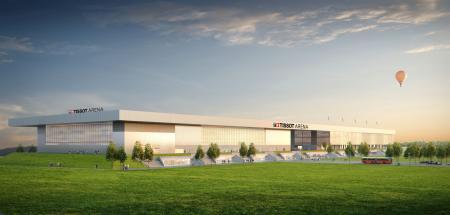 La future Tissot Arena