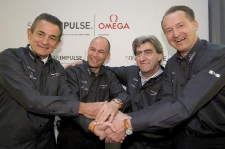 Solar Impulse project - Omega - 2006