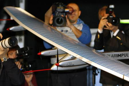 Solar Impulse project - Omega - protoype HBSIA - 2007