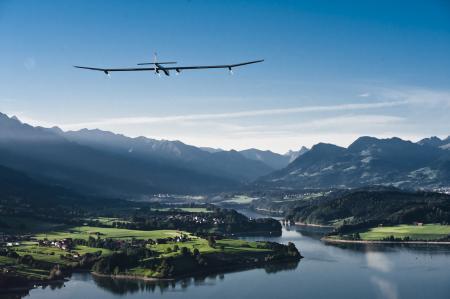Solar Impulse project - Omega - Premier vol - 2010