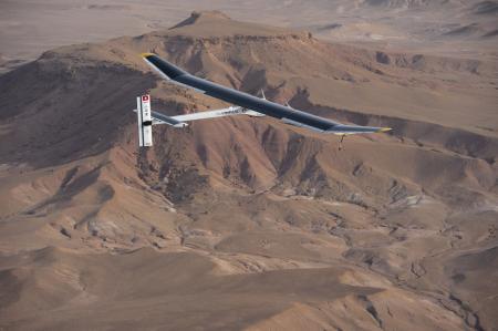 Solar Impulse project - Omega - Vol intercontinental - 2012