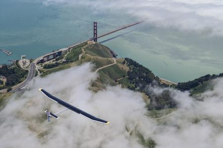 Solar Impulse project - Omega - Vol au-dessus des Etats-Unis - 2013