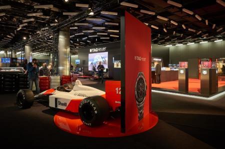 TAG Heuer au Salon de l'Automobile de Genève