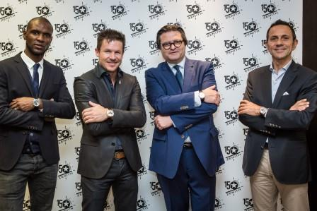 Zenith - Baselworld 2015 - Felix Baumgartner, Erik Comas, Eric Abidal, Aldo Magada