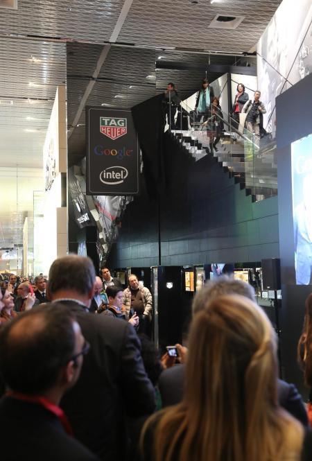 Baselworld 2015 : TAG Heuer, Google et Intel ont annoncé leur collaboration sur une montre suisse connectée