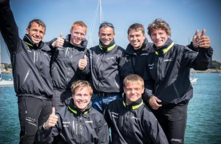 L'équipe Spindrift Racing - © Eloi Stichelbaut