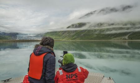 Making off de la vidéo Glacier Bay National Park ©Mark Kelley
