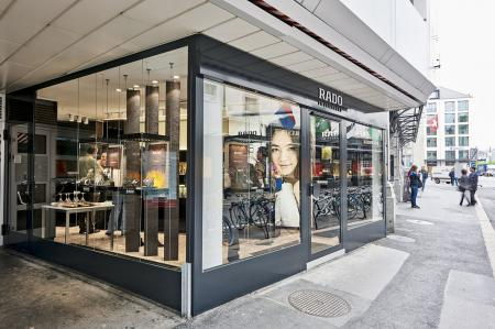La première boutique Rado en Suisse