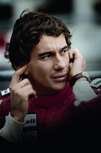 Ayrton Senna reprend sa place dans la famille des ambassadeurs TAG Heuer