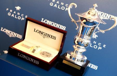 La Longines DolceVita, Montre Officielle du Prix de Diane Longines 2015, et la Coupe du Prix de Diane Longines