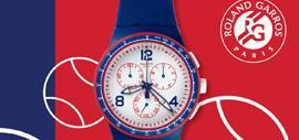 Swatch Faster Server, édition spéciale Roland-Garros