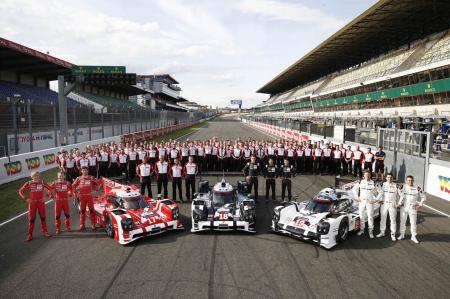 Les équipes Porsche Motorsport engagées en LMP1