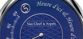 Montre Pierre Arpels Heure d'ici & Heure d'ailleurs, spécialement créée pour Only Watch 2015