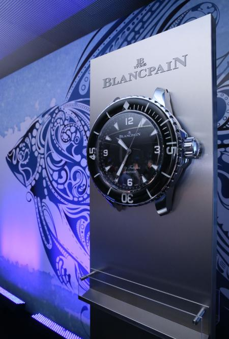 Blancpain au World Ocean Summit 2015
