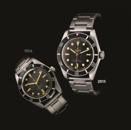 TUDOR montres de plongée, le passé et le présent