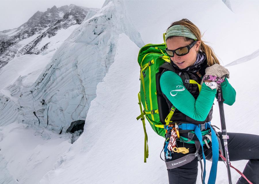 Melissa Arnot ambassadrice de la maison Alpina