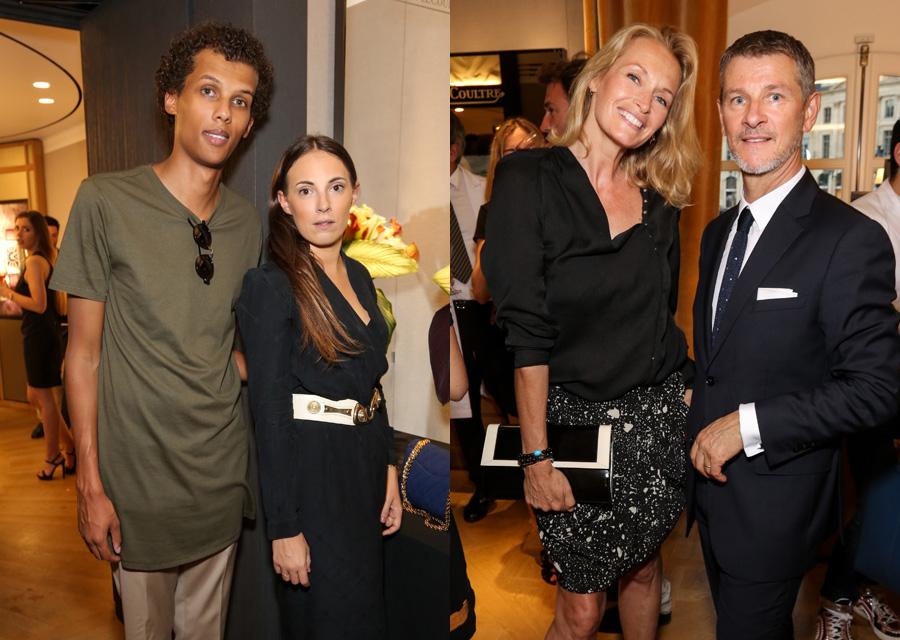 Stromae et Coralie Barbier - Estelle Lefébure et Franck Robinet DG France Jaeger-LeCoultre ©François Goizé