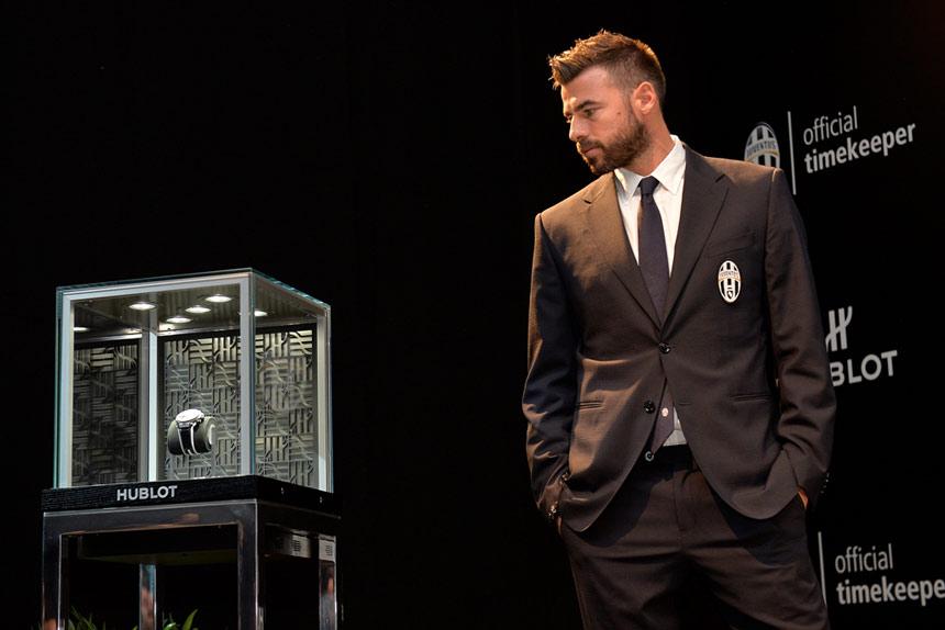 Big Bang Unico Bi-Retrograde Juventus - Andrea Barzagli ©LaPresse