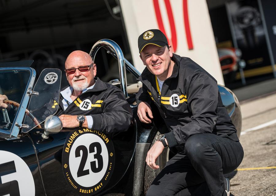 Baume & Mercier - Alain Zimmermann et Allen Grant