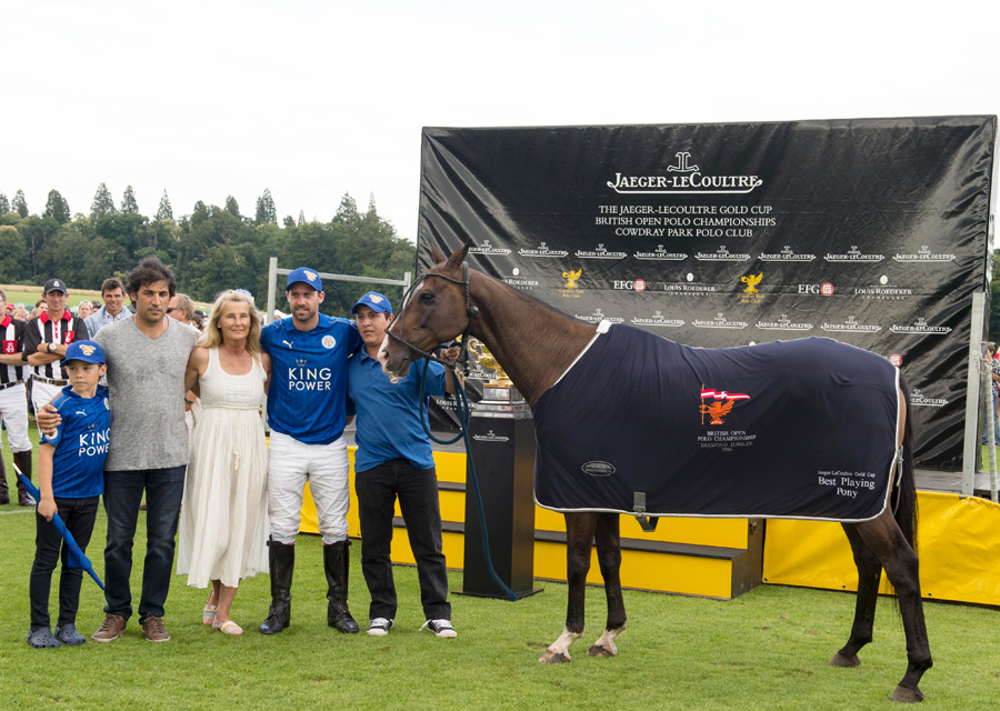 Best Playing Pony award presented by Lila Pearson_Jaeger-LeCoultre Gold Cup∏Vanessa Taylor Photography