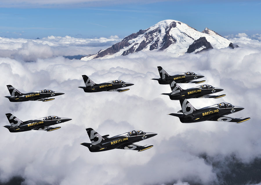 Breitling Jet Team - American Tour - Mount Baker