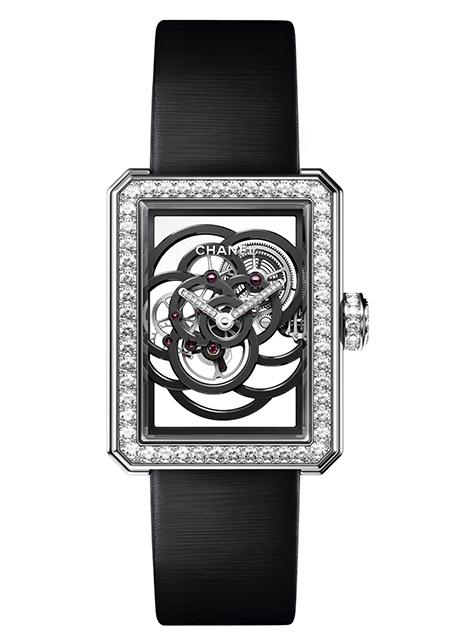 Prix de la Montre Dame : Chanel, Première Squelette Camélia