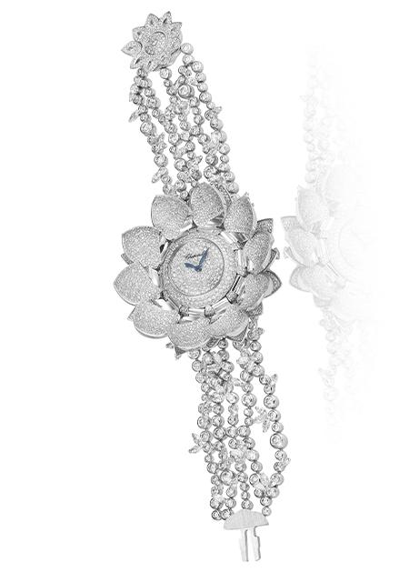 Prix de la Montre Joallerie : Chopard, Montre Lotus Blanc