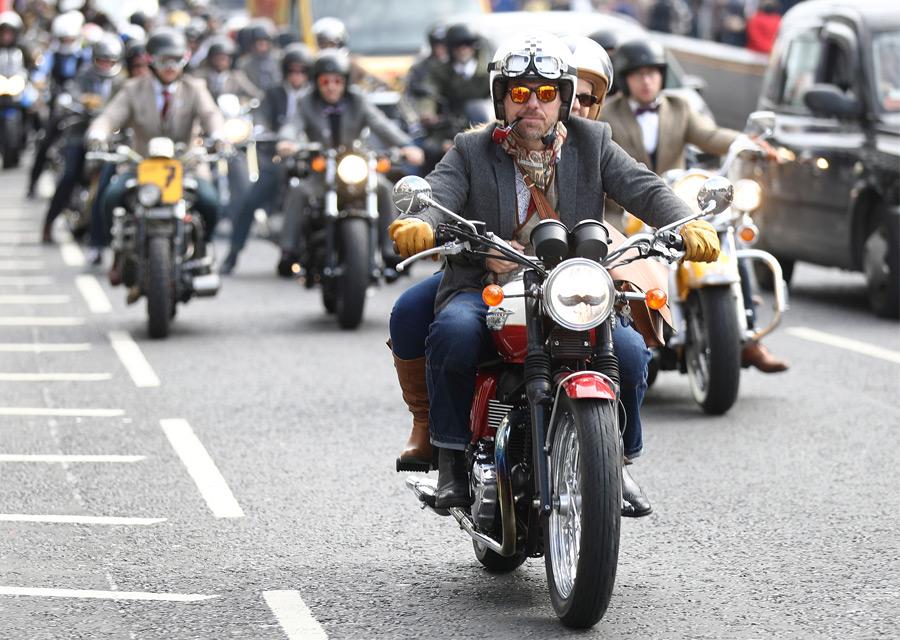 Distinguished Gentleman's Ride 2016 - Londres