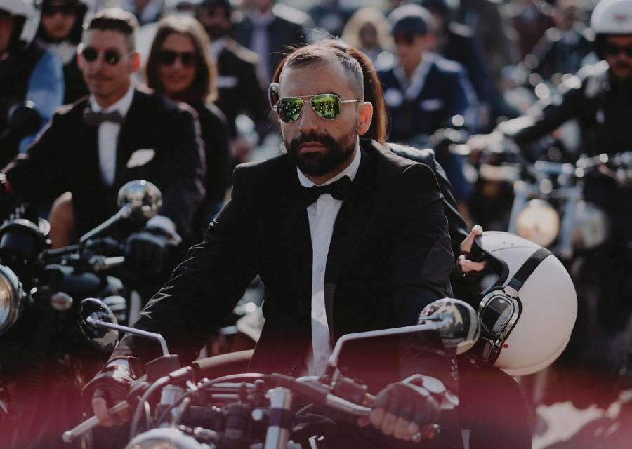 Distinguished Gentleman's Ride 2016 - Milan - crédit Nicola Marchesi