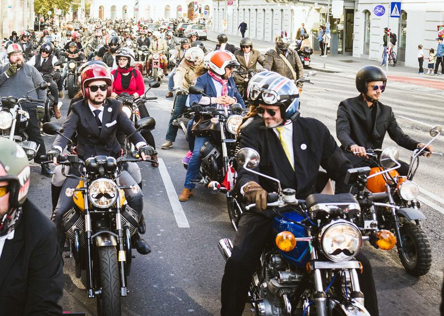 Distinguished Gentleman's Ride 2016 - Vienne - crédit Georg Aufreiter