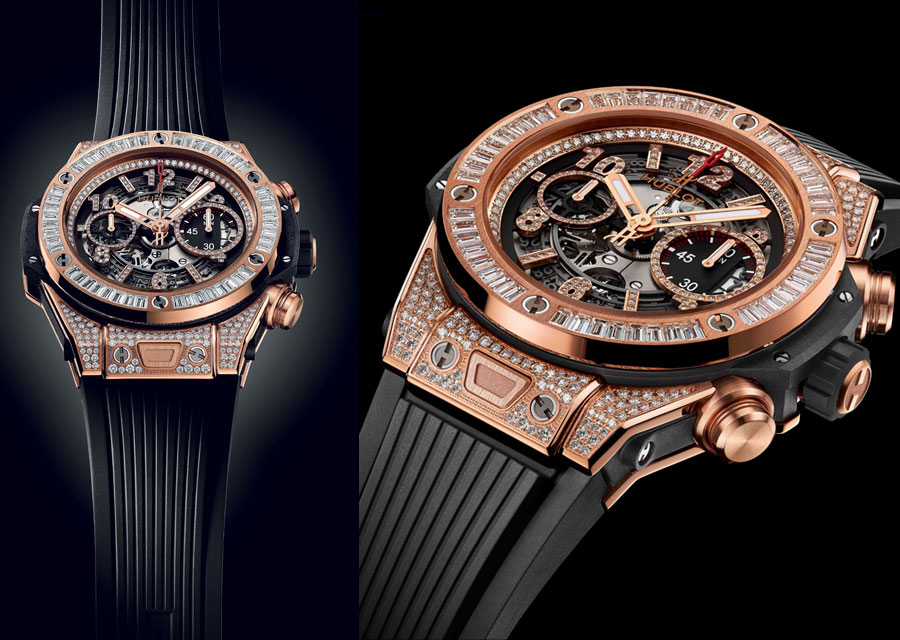 Hublot Big Bang Unico King Gold Jewelry, un style audacieux pour remporter chaque round comme Floyd Mayweather Jr