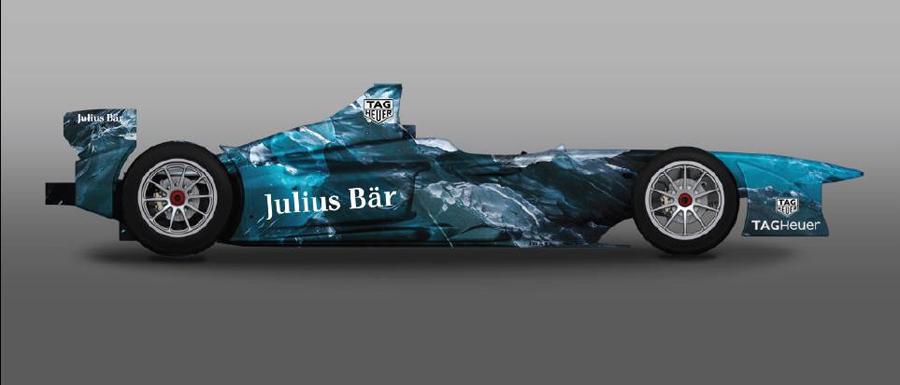 Un Showcar Formule-e customisé par Lapo Elkann et Garage Custom Italia