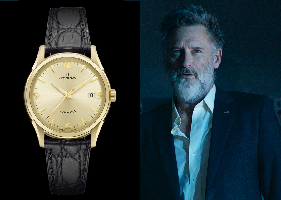 Bill Pullman porte une Hamilton Thin-O-Matic dans Independence Day : Resurgence