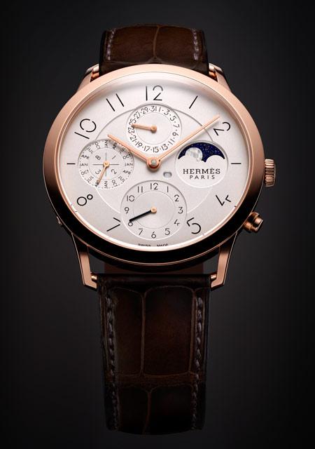 Prix de la Montre Calendrier - Hermès Slim d'Hermès QP