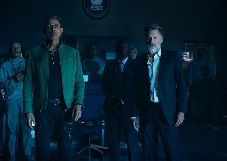 Les acteurs Jeff Goldblum et Bill Pullman