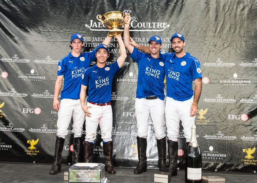 King Power Foxes won the 2016 Jaeger-LeCoultre Gold Cup Vanessa Taylor Photography