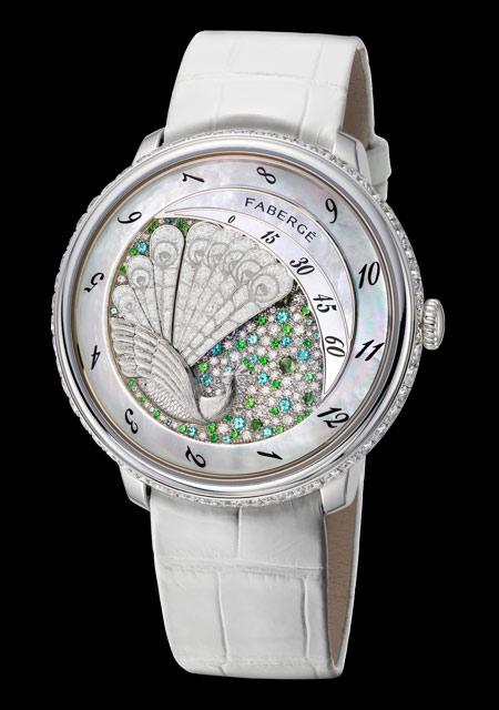Prix de la Haute Mécanique pour Dame - Fabergé Lady Compliquée Peacock