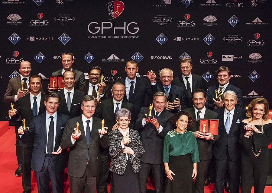 Les Lauréats des Grands Prix de l'Horlogerie de Genève 2017