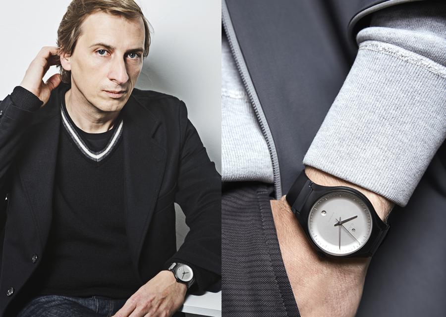 La Rado True Cylco au poignet de son créateur, Philippe Nigro