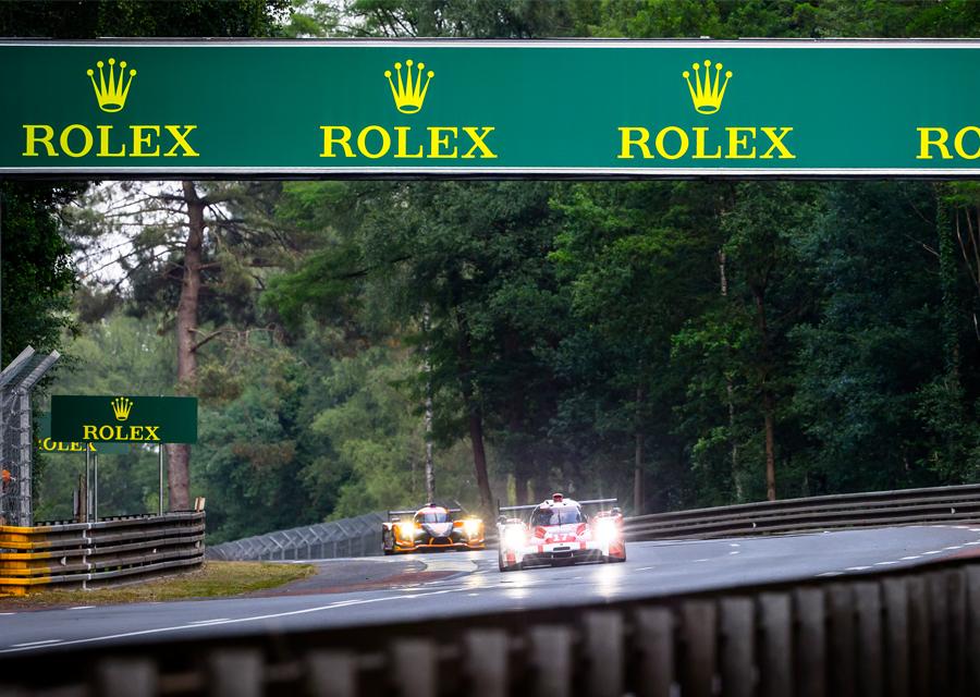Rolex, Partenaire Officiel des 24 Heures du Mans