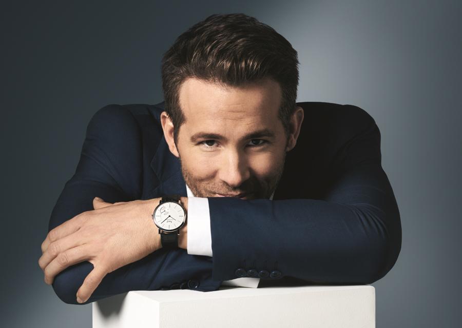Ryan Reynolds, nouvel ambassadeur international de Piaget
