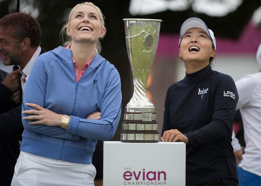 Lindsey Vonn, Témoignage Rolex et la gagnante du tournoi 2019, Jin Young Ko