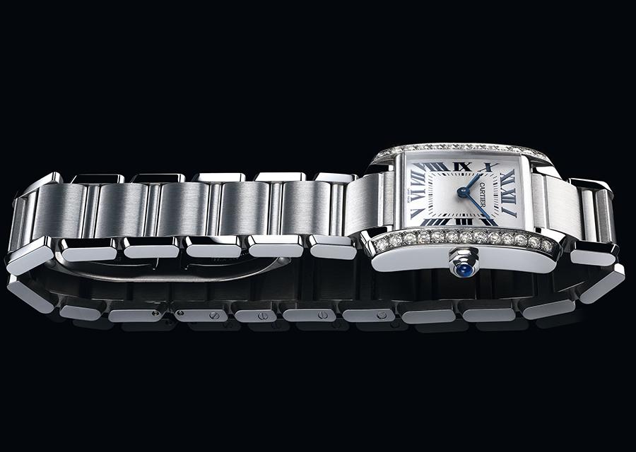 Tank Française acier diamants moyen modèle