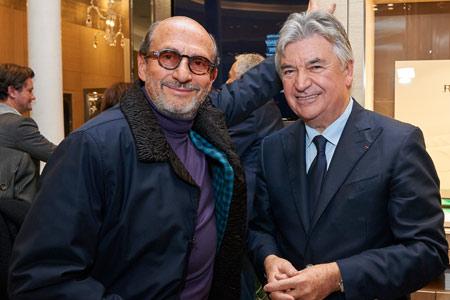 Richard Mille avec Pierre Dubail