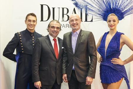 Patrice Dubail avec Frank Leboeuf