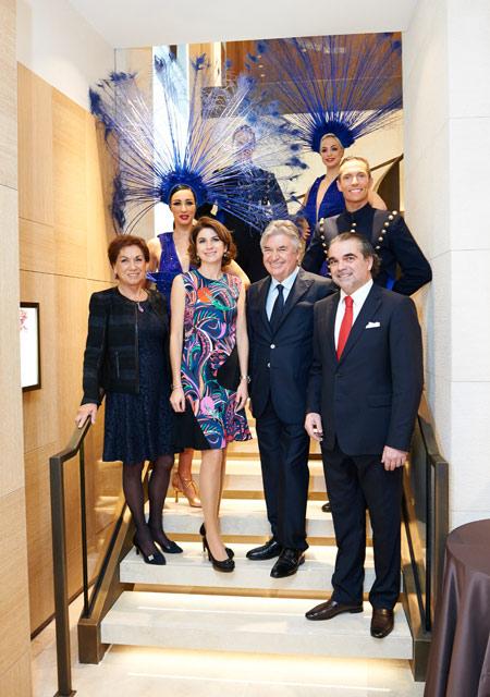 Pierre Dubail et son épouse avec Patrice et Isabelle Dubail