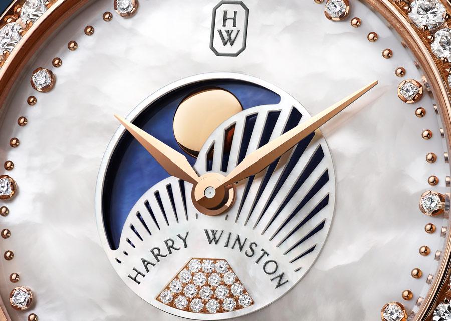 Harry Winston Premier Moon Phase 36mm