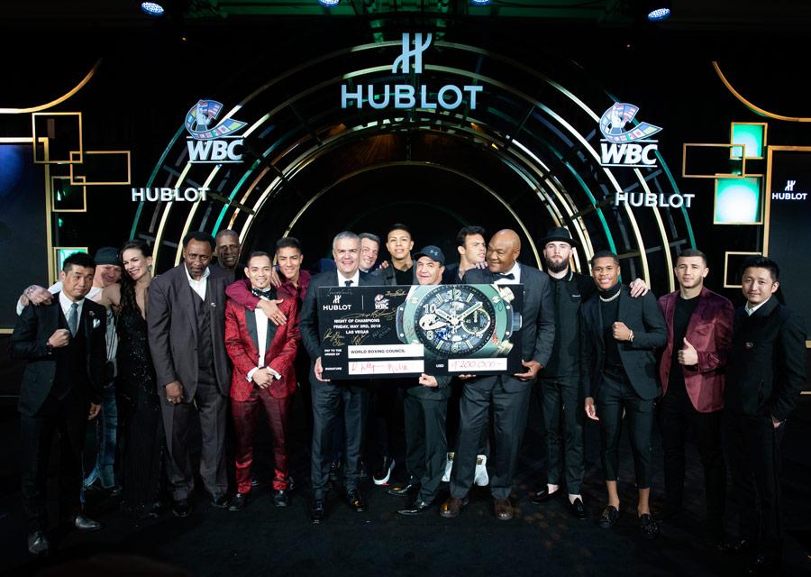 La soirée a permis de récolter 1,2 millions de dollars au profit de l'association WBC José Sulaimán Boxers Fund