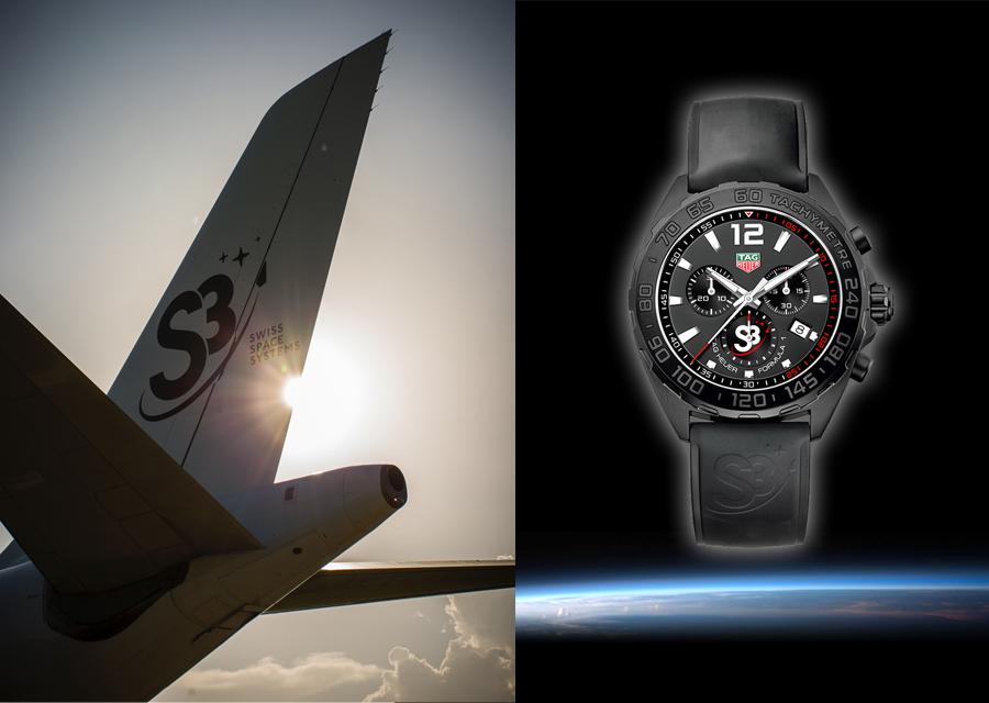 Tag Heuer partenaire du programme suisse aérospatiale S3